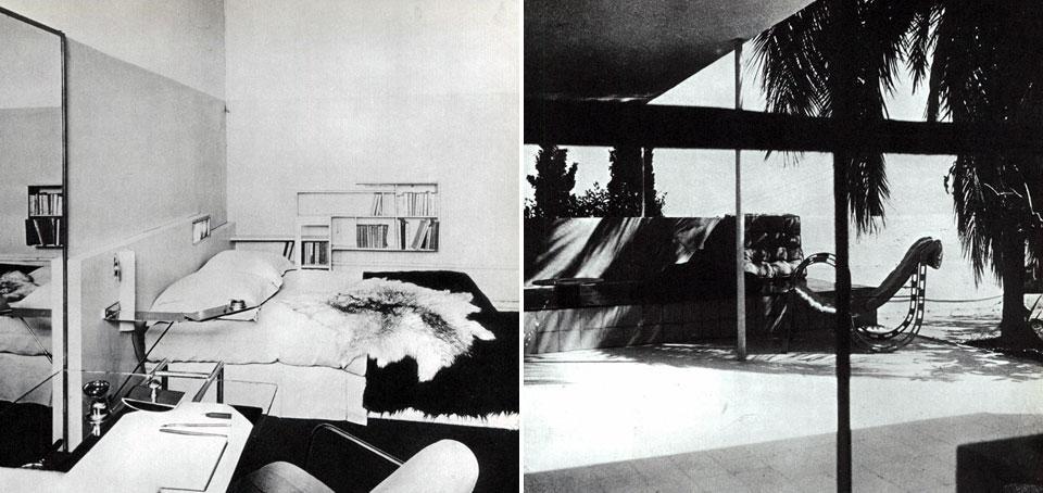 Eileen gray pioniera del design domus - Letto ripiegabile ...