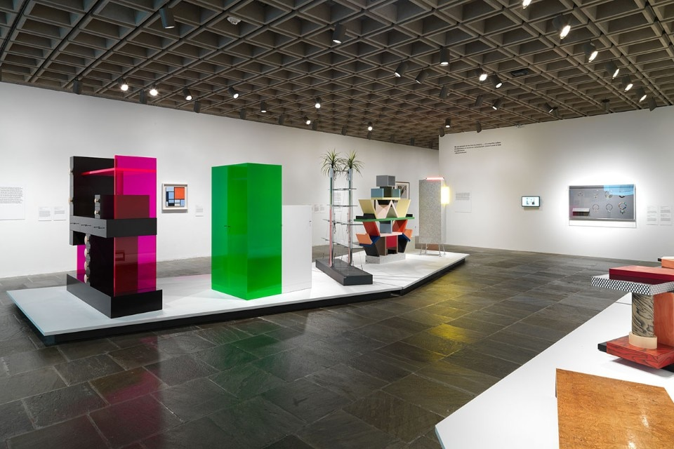 "Img.3 View of the exhibition ""Ettore Sottsass. Radical Design"" at the Metropolitan Museum of Art, New York. Courtesy of The Metropolitan Museum of Art"