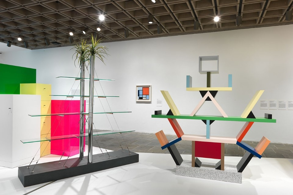 "Img.4 View of the exhibition ""Ettore Sottsass. Radical Design"" at the Metropolitan Museum of Art, New York. Courtesy of The Metropolitan Museum of Art"