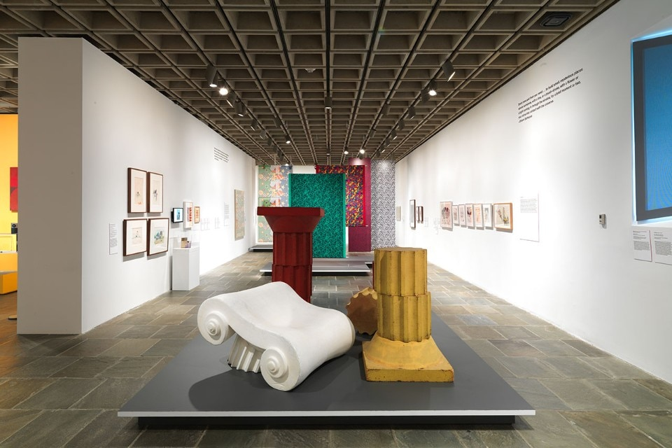 "Img.5 View of the exhibition ""Ettore Sottsass. Radical Design"" at the Metropolitan Museum of Art, New York. Courtesy of The Metropolitan Museum of Art"