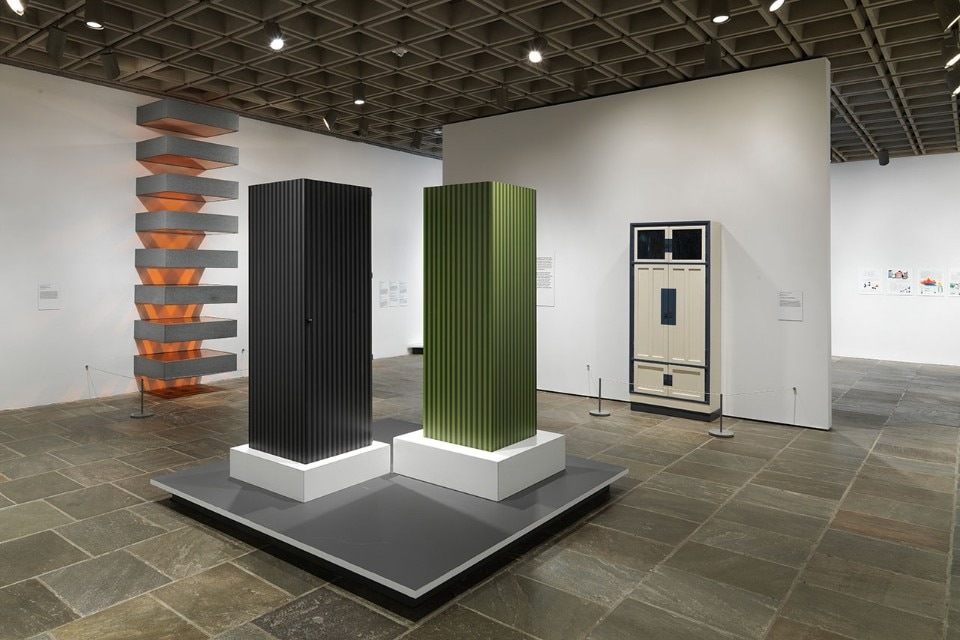"Img.6 View of the exhibition ""Ettore Sottsass. Radical Design"" at the Metropolitan Museum of Art, New York. Courtesy of The Metropolitan Museum of Art"