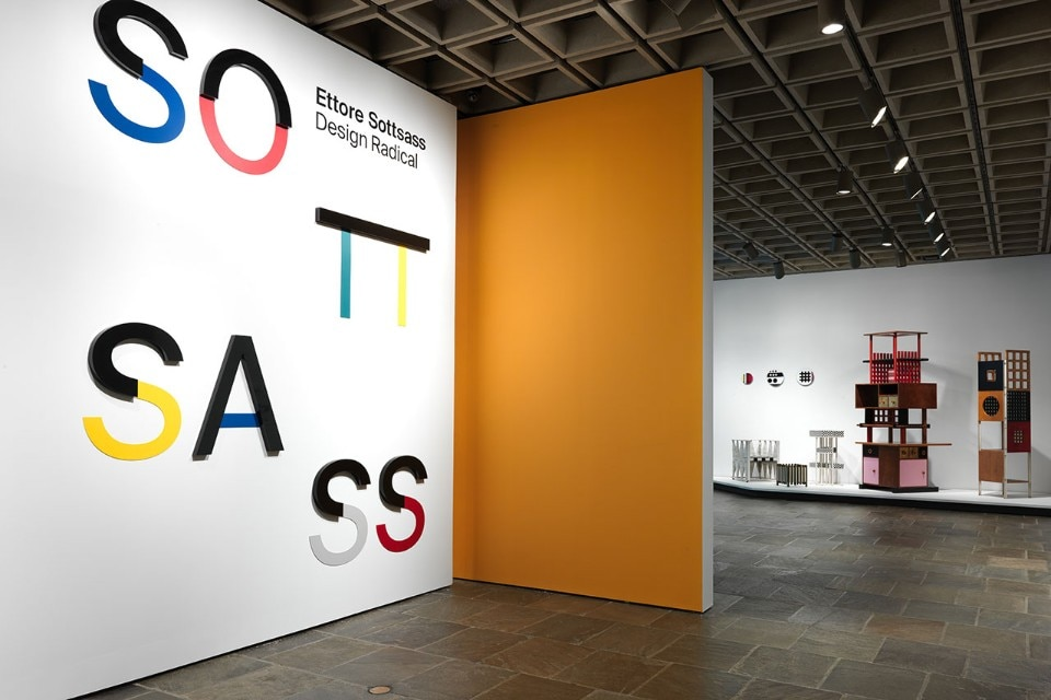 "Img.7 View of the exhibition ""Ettore Sottsass. Radical Design"" at the Metropolitan Museum of Art, New York. Courtesy of The Metropolitan Museum of Art"