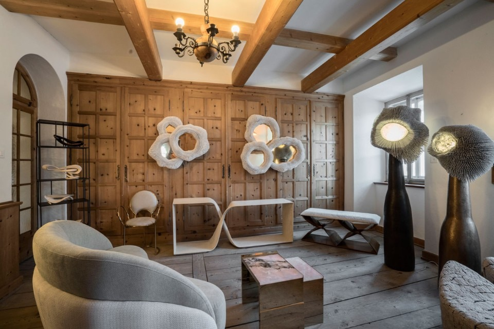 Nomad Brings Collector Art And Design To Engadin Domus