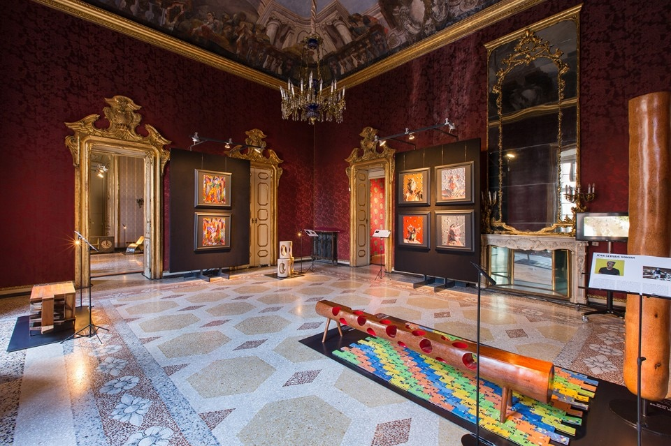 """AfricaAfrica, exploring the Now of African design and photography"", vista dell'installazione, Palazzo Litta 2018"