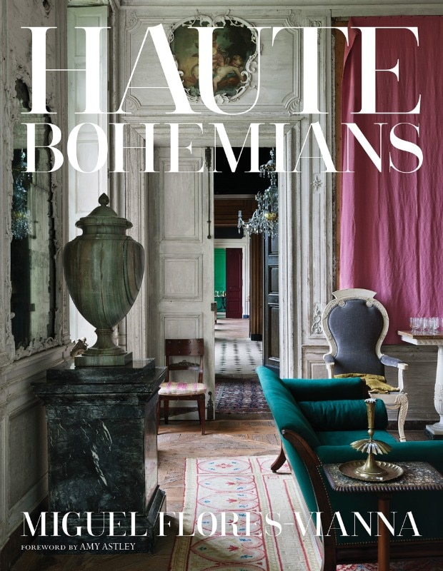 The cover of the book by Miguel Flores-Vianna Haute Bohemians