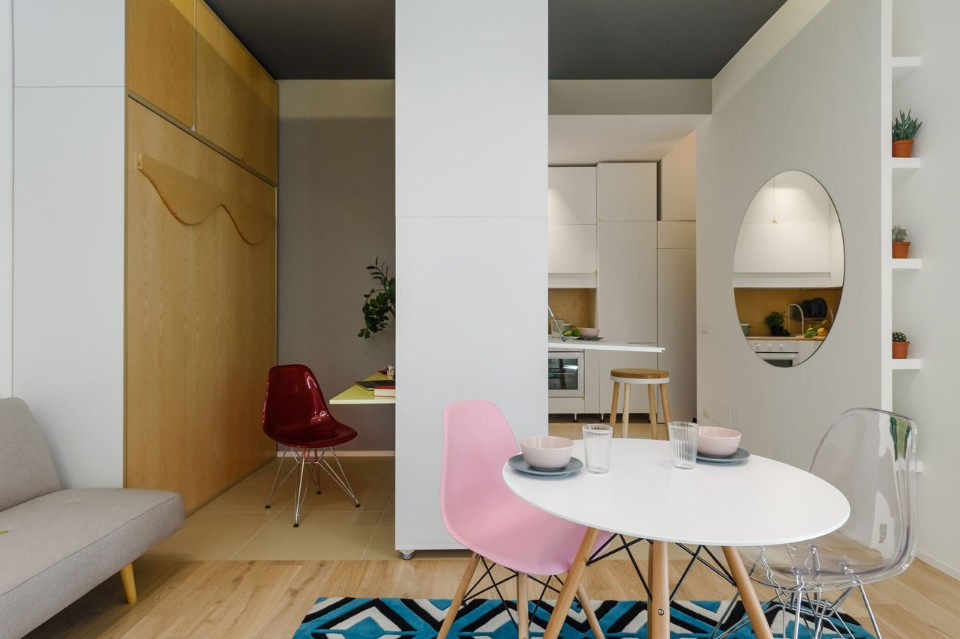 Milan A Mini Apartment With Little Space But Many Uses Domus