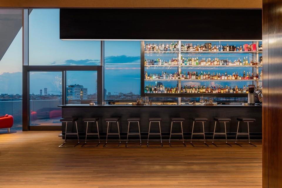 At Fondazione Prada a new restaurant overlooks an unknown Milan - Domus