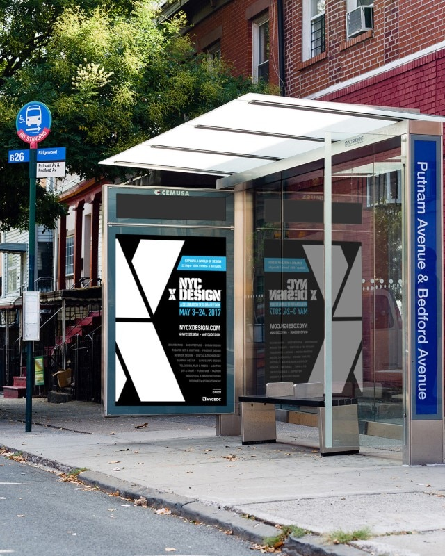 NYCxDesign, bus shelter