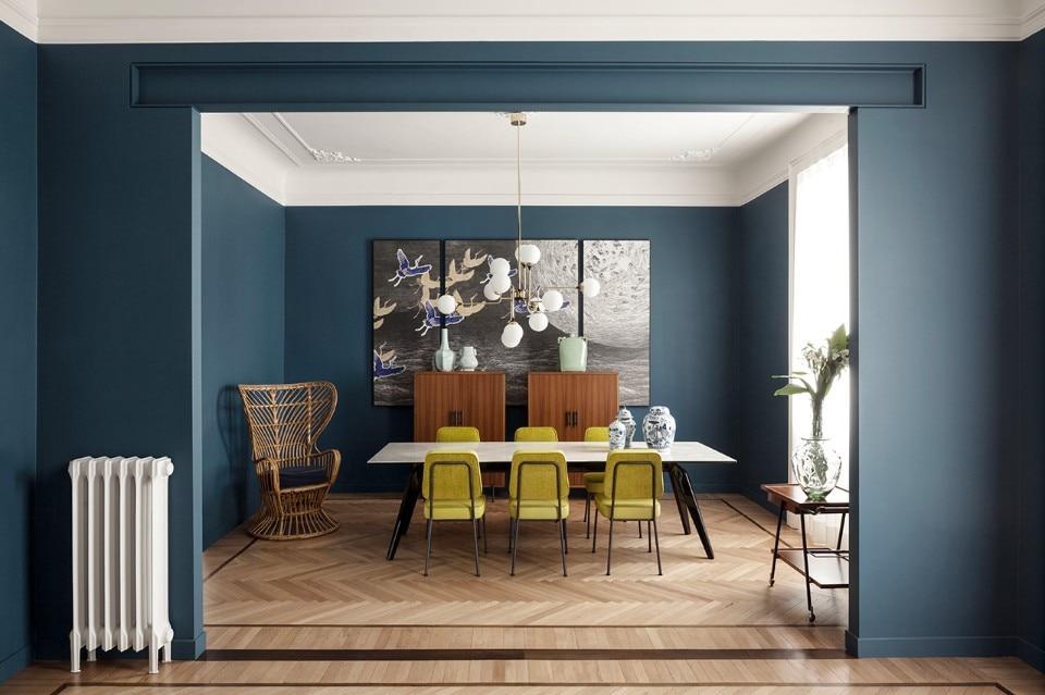 Milan a contemporary and exotic 20th century apartment for Appartamenti decor
