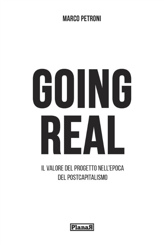 The cover of Going Real, Planar, 2018