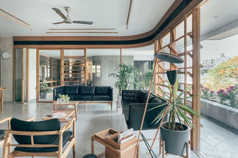 Ufficio Di Un Architetto : India. un ufficio per avvocati e architetti domus