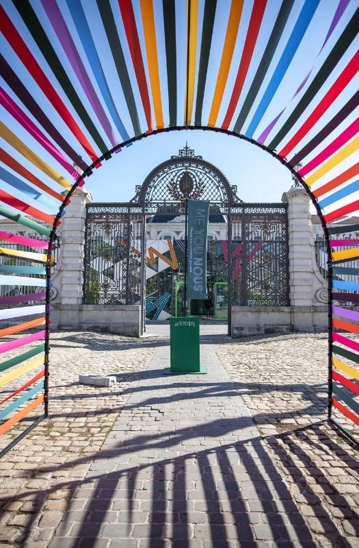 D Exhibition Design Tutorial : Biennale di design di saint Étienne otto progetti da tenere