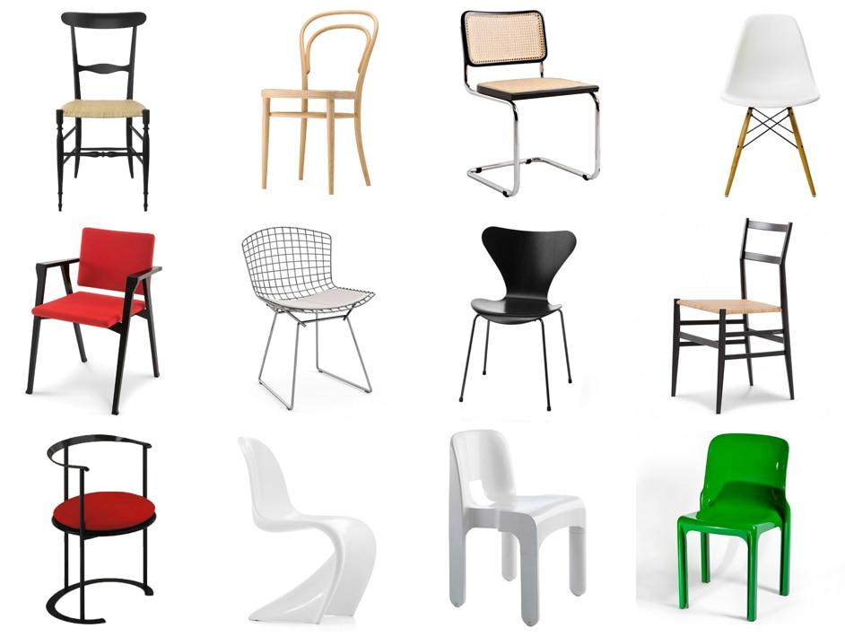 Sedie Di Plastica Colorate.20 Imperdibili Sedie Di Design Il Carattere Di Una Sedia Moderna