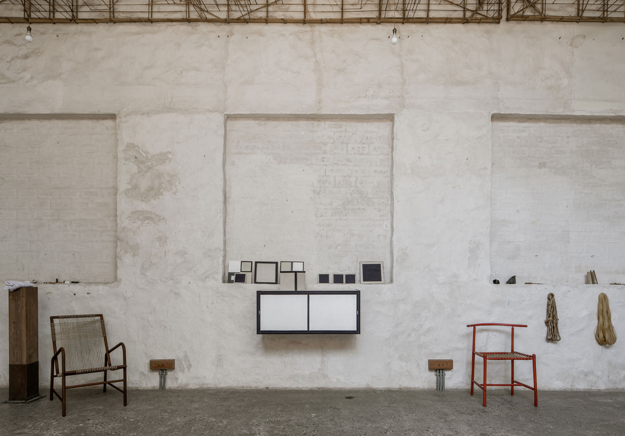 Maniera design gallery presents Studio Mumbai's latest