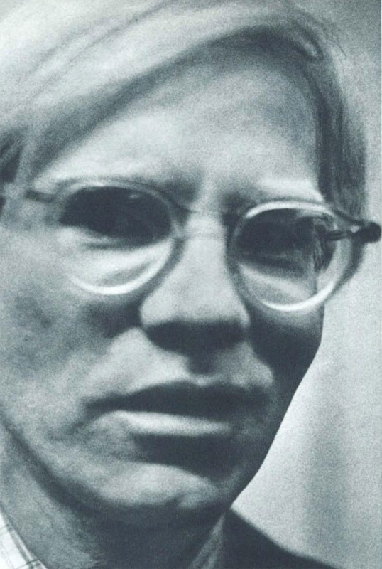 Andy Warhol in Milan, October 1974. Photo Giorgio Colombo, Domus 541
