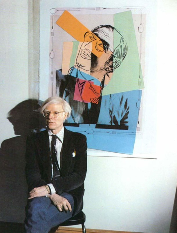 Scarpa seen by Warhol, photo Grazia Vigo, Domus 603