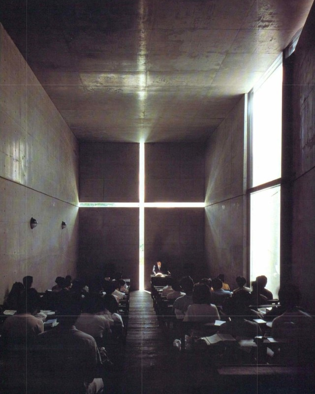 Tadao Ando, Church of Light, Osaka, 1989. Photo Yoshio Shiratori