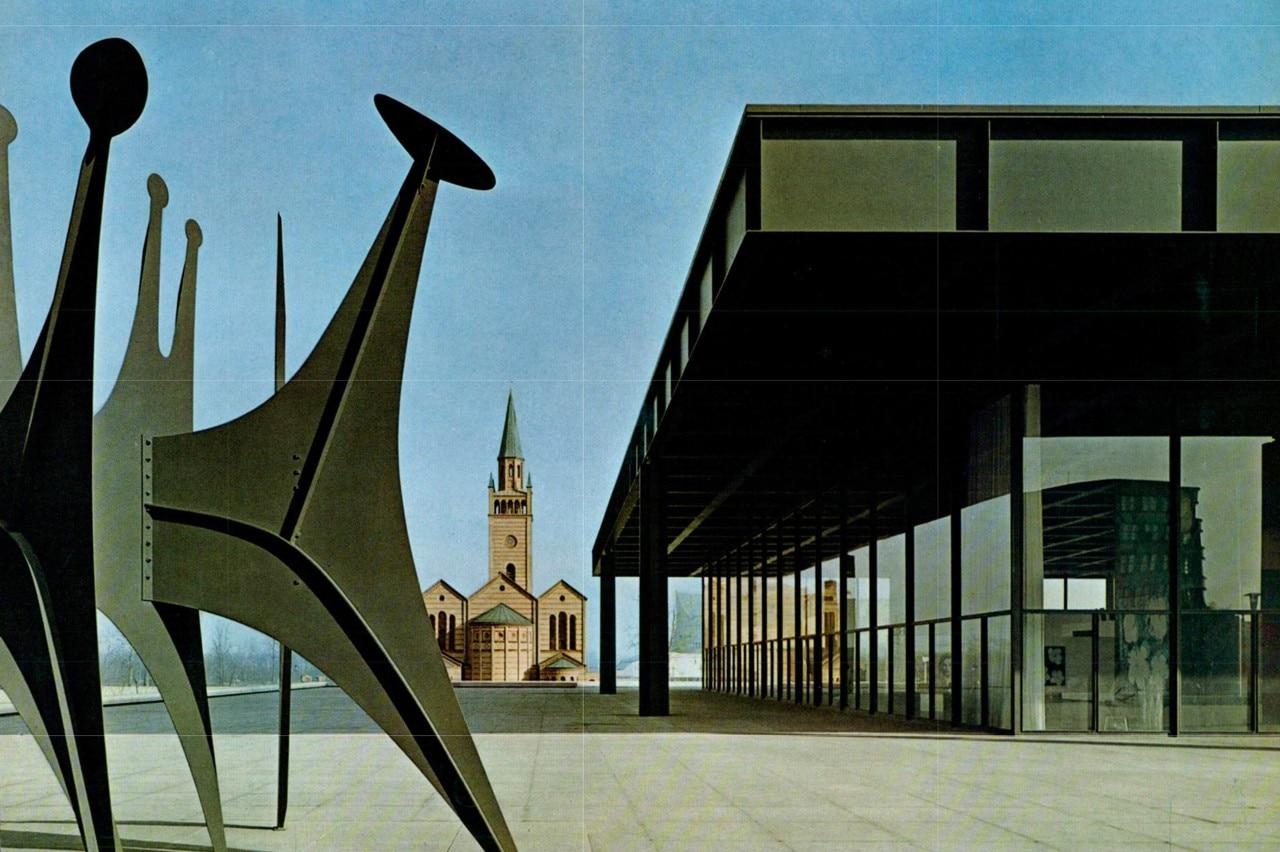 Mies van der rohe a berlino la neue nationalgalerie for Hotel berlino design