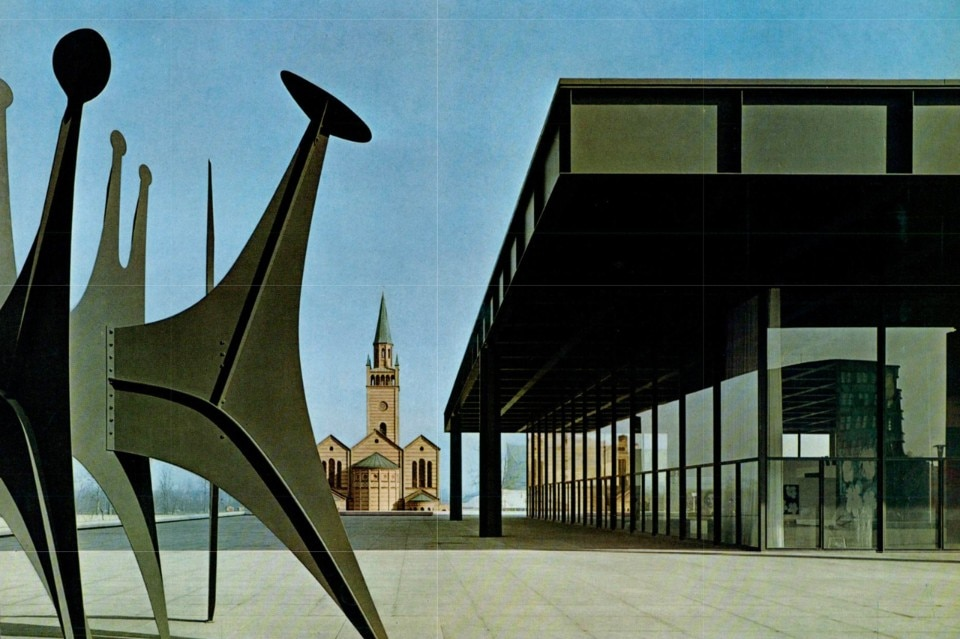 Mies van der Rohe, Neue Nationalgalerie, Berlino