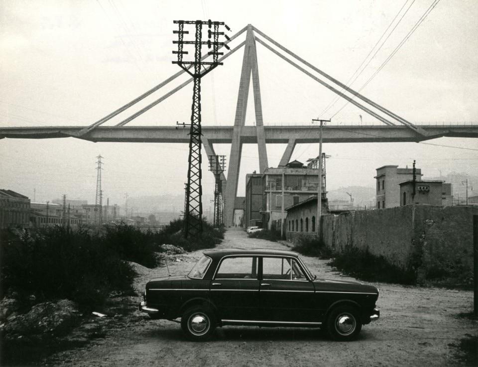 Dagli Archivi Domus, la relazione originale del viadotto Morandi