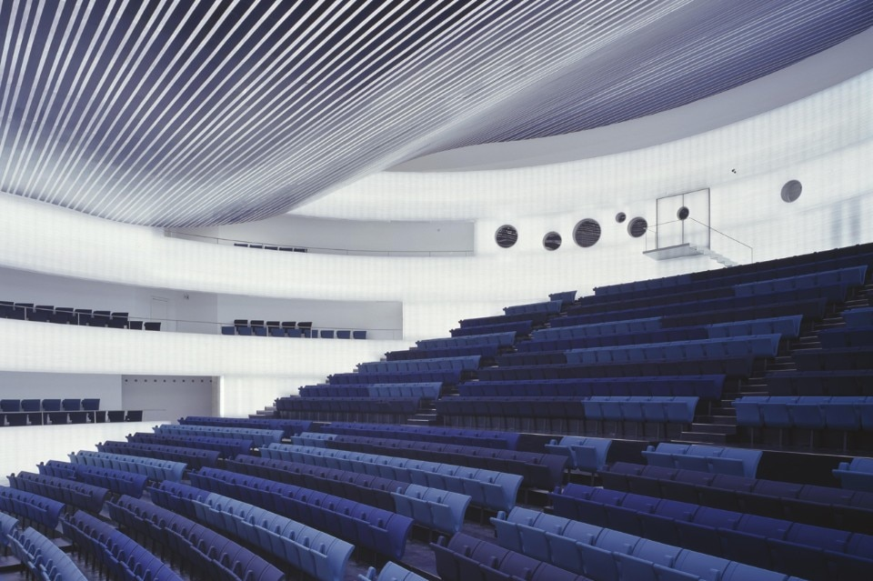 SelgasCano, Auditorium, Badajoz 2006. Photo Roland Halbe