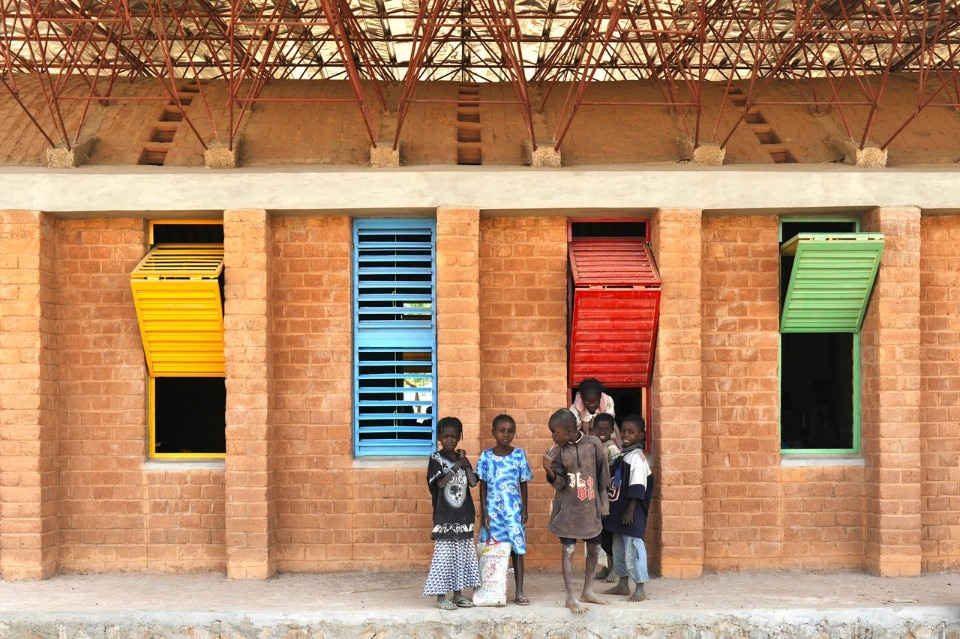 Kéré Architecture, Gando Primary School Extension, Gando, Burkina Faso, 2008. Photo Erik Jan Ouwerkerk