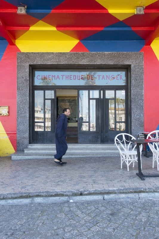 The Cinémathèque de Tanger, created in 2007 on the initiative of Yto Barrada
