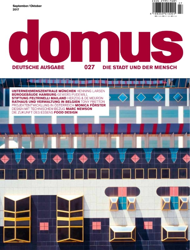 Domus Germany, September-October 2017, cover