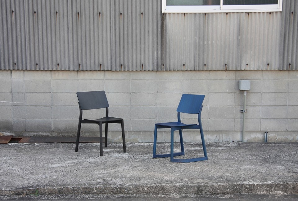 Geckeler Michels, Panorama chairs, Karimoku, 2018