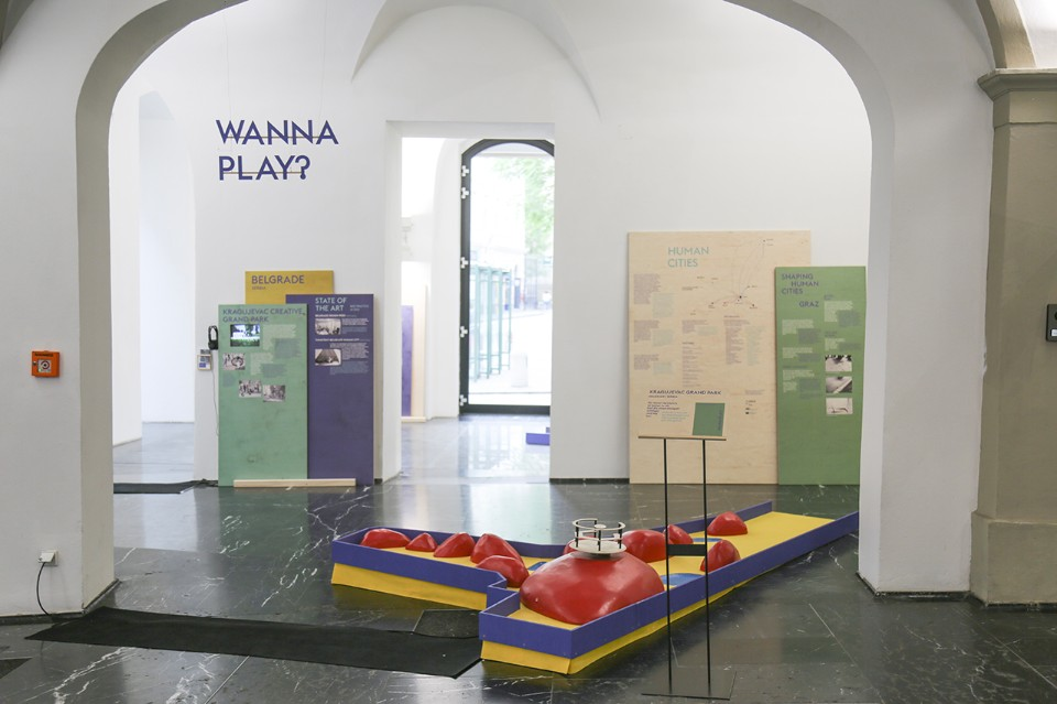 """Shaping Human Cities"", exhibition view, GrazMuseum, Graz, 2018"