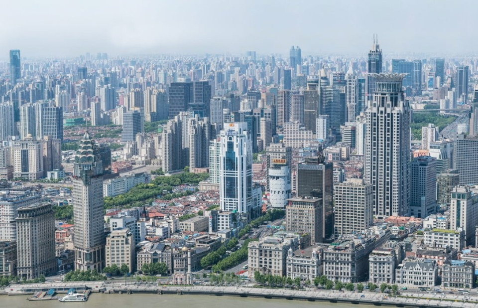 A 195 gigapixel photograph shows Shanghai right down to ...