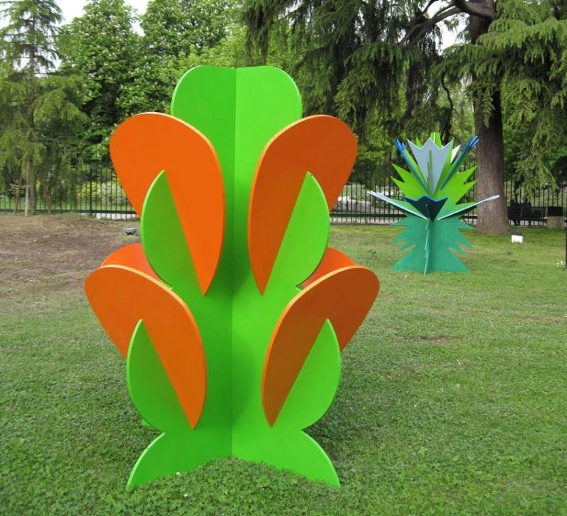 Flora futurista nel giardino della triennale domus for Giardino triennale