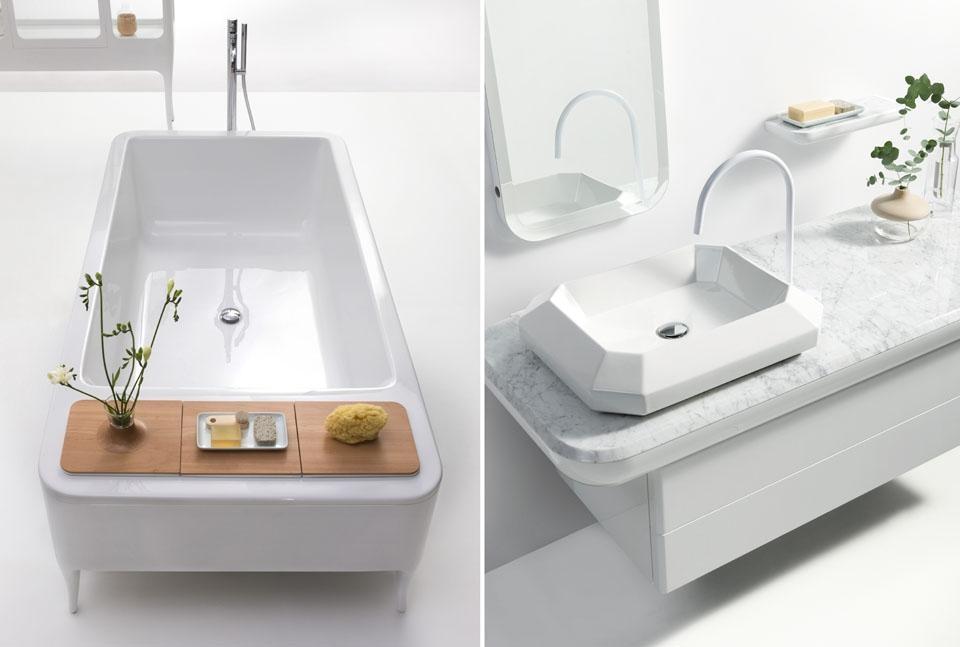 Il debutto di bisazza bagno - Piano lavandino bagno ...