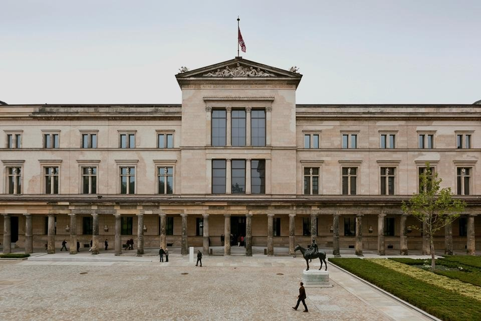 Immagine del Neues Museum di Ute Zscharnt per David Chipperfield Architects