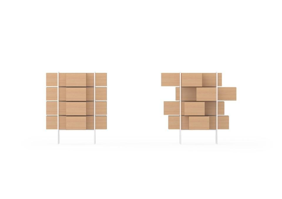 Nendo per bisazza domus for Mazzocchi strutture in legno