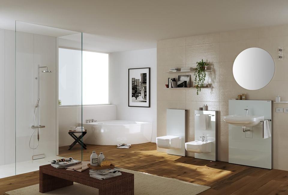 Geberit monolith domus for Sala da bagno design