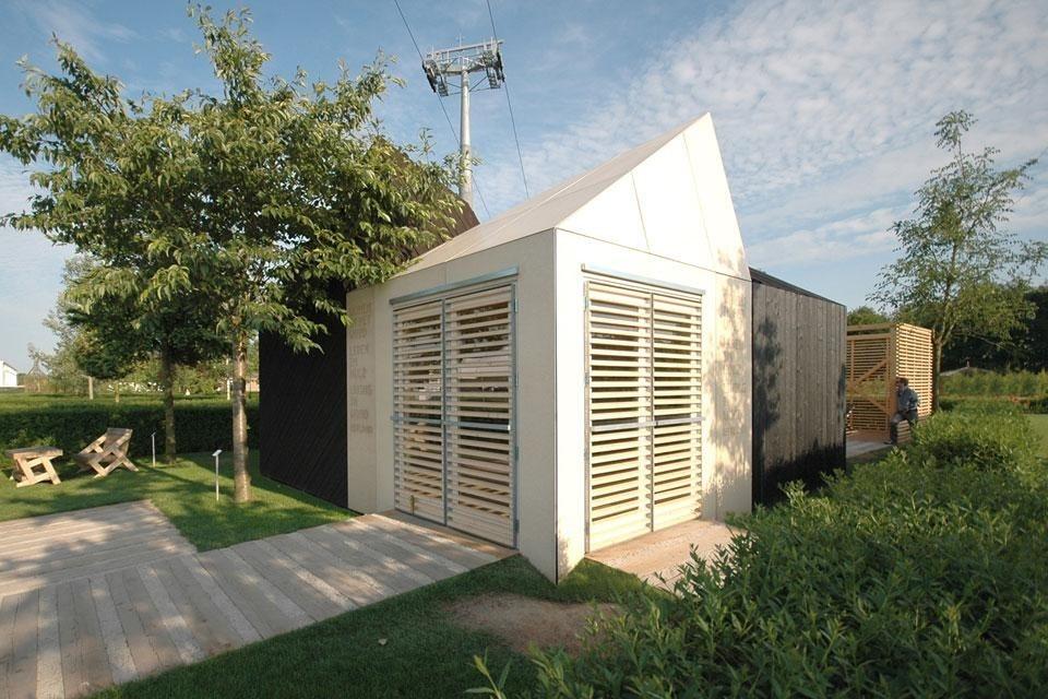 Kuu architects estonian pavilion domus for Mazzocchi strutture in legno