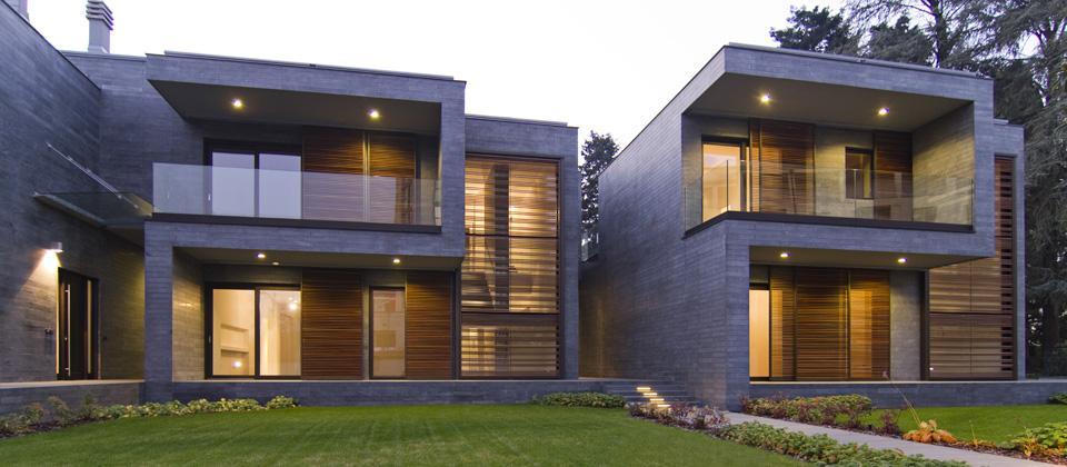 Blast tre case unifamiliari for Case progettate da architetti
