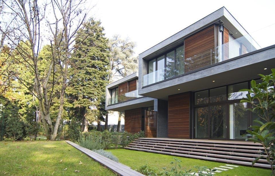 Blast tre case unifamiliari domus for Case realizzate da architetti