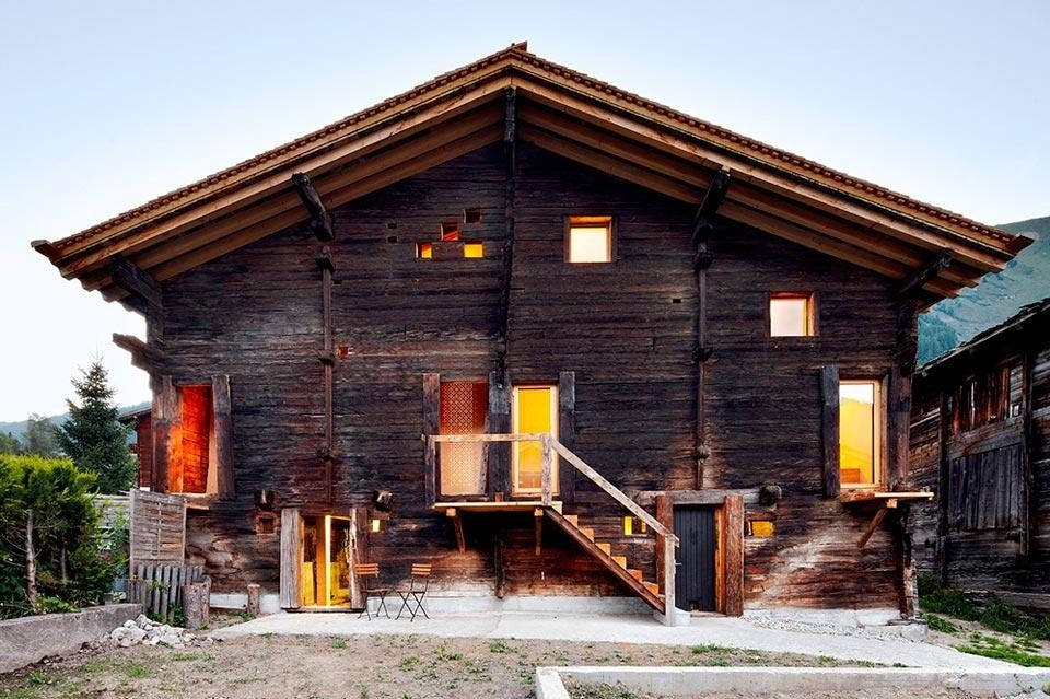 Camponovo baumgartner casa c domus for Piani casa per il fine settimana