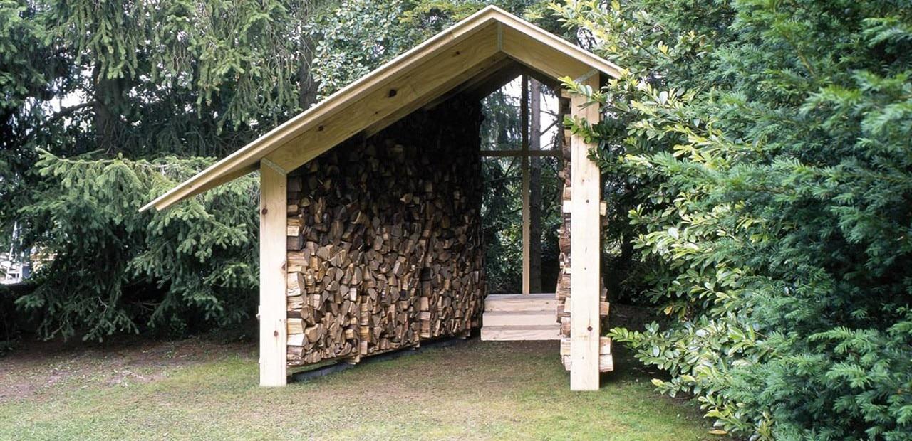Wooden hut for Mazzocchi strutture in legno