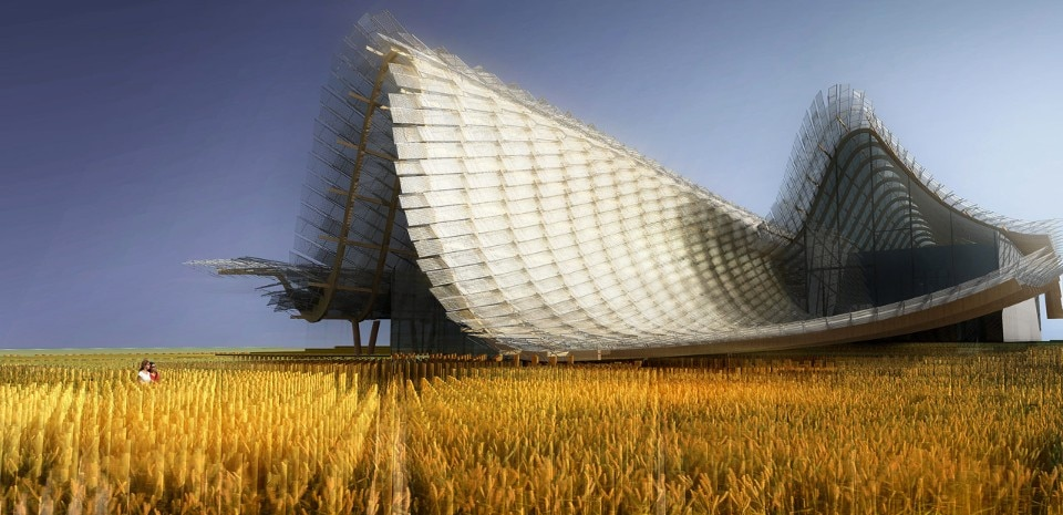 Tsinghua University & Studio Link-Arc, Chinese Pavilion, Land of Hope, Food for Life, Expo Milano 2015