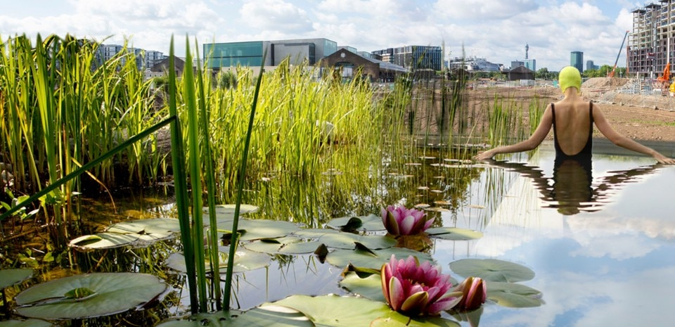 Ooze Architects and Marjetica Potrč, <i>Of Soil and Water: King's Cross Pond Club</i>, London