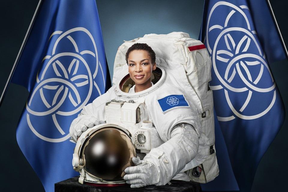 The International Flag of Planet Earth by Oskar Pernefeldt