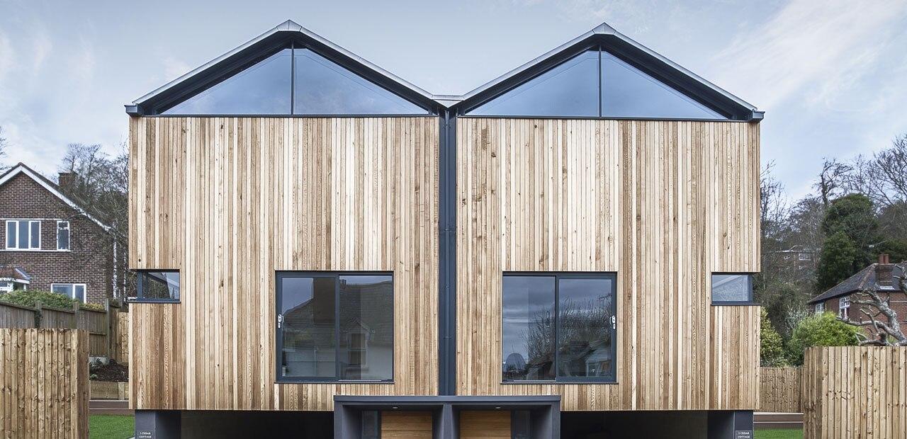 Casette di cedro for Mazzocchi strutture in legno