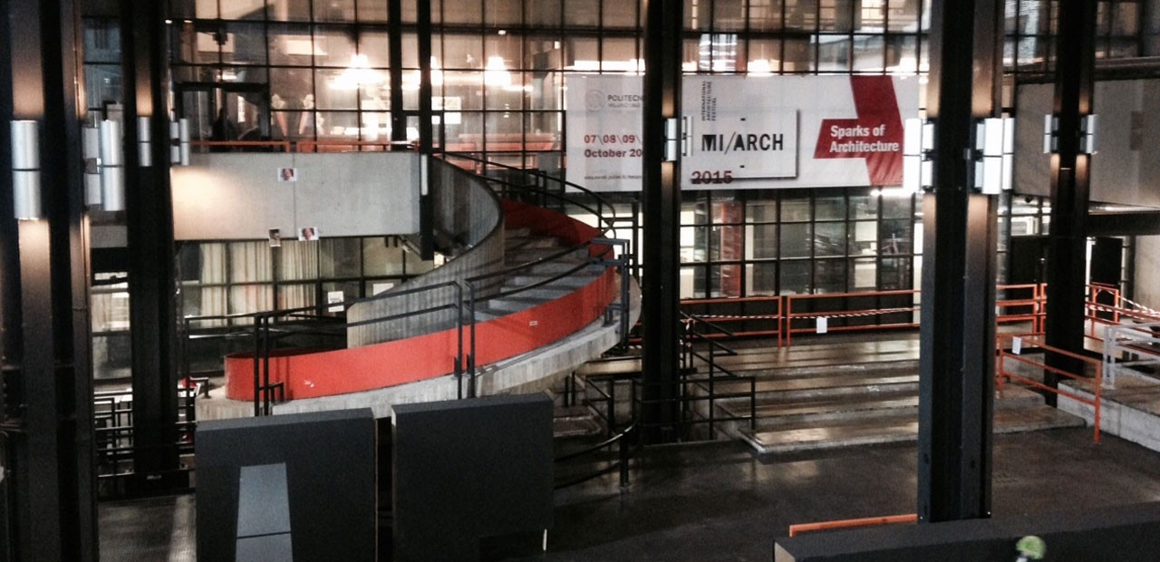 Sparks of architecture domus for Architettura politecnico di milano