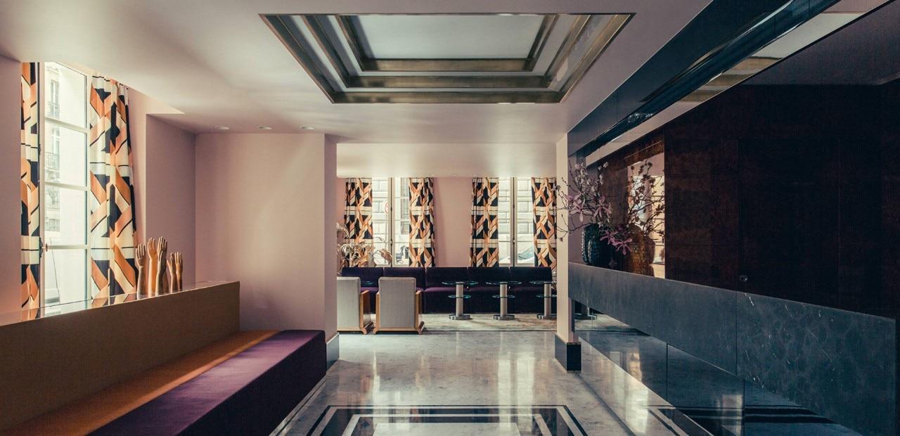 Hotel dec domus for Interni parigini