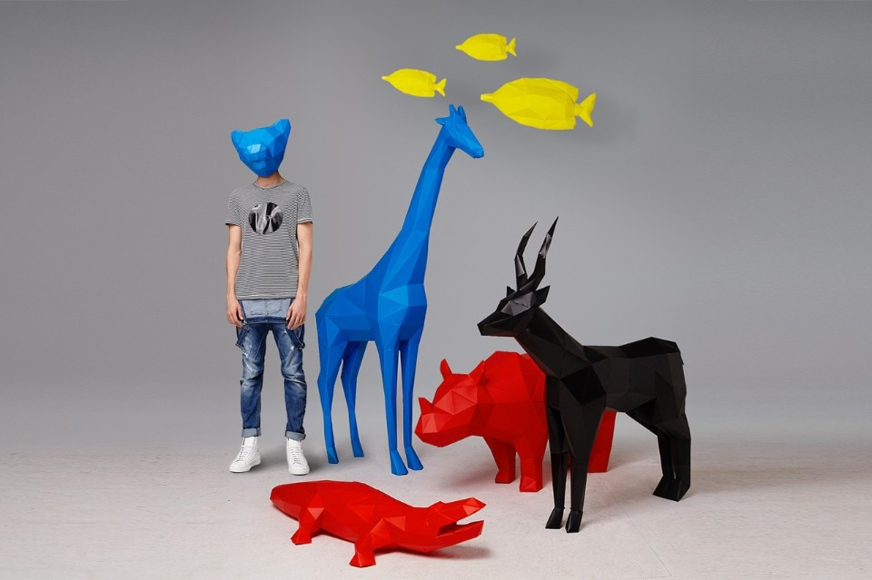 Pellegrino Cucciniello, Folding Pets Big Animals