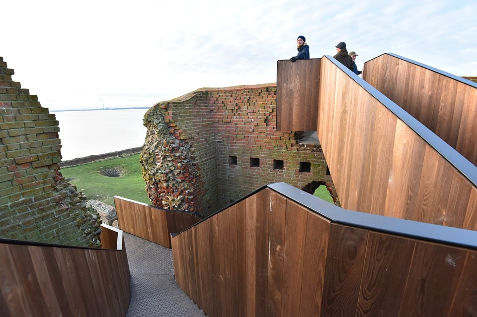 MAP Architects, Kalø Tower Visitor Access, Rønde, Denmark, 2016