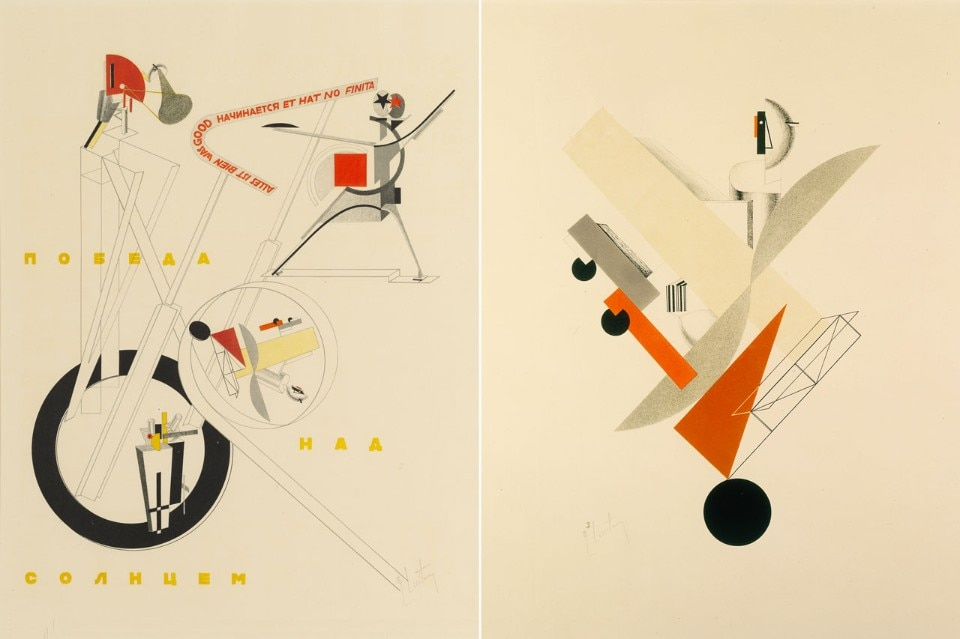 el lissitzky - victory over the sun - domus